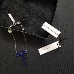 Marc Jcobs Blue Ribbon Bracelet